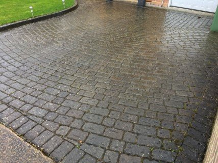 Driveway Cleaning Hertfordshire Before Pressure Washing