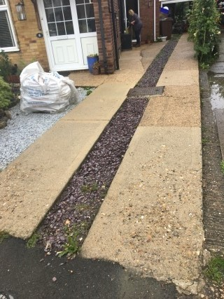 Concrete Driveway Aylesbury After Pressure Washing