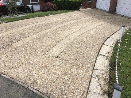 Concrete Driveway Hemel After Pressure Washing